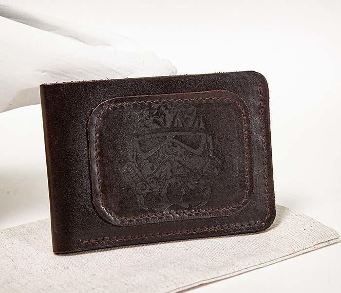 WB158 Мужской кошелек с изображением имперского штурмовика, «Boroda Design» фото 02