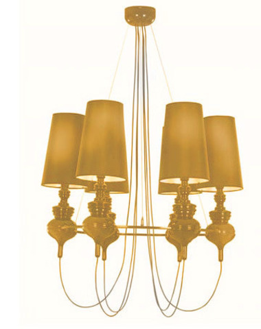replica Jaime Hayon  Josephine chandalier 6 lamps (gold)