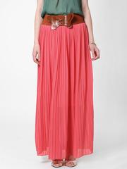 U288-4 юбка женская, розовая