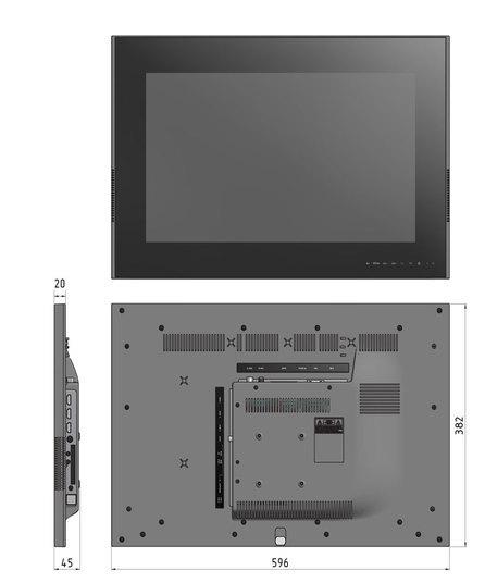 Встраиваемый телевизор KITEQ TV 22A12S-B