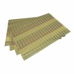 Комплект из 4 сервировочных ковриков 45x30см (ПВХ)