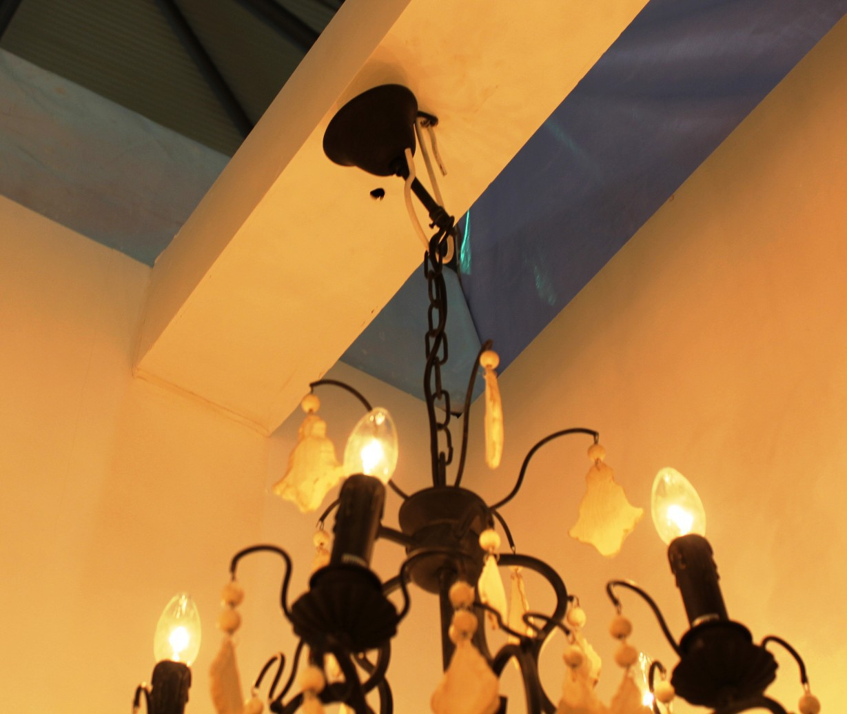 vintage chandelier 01-62 ( by Funky Vintage ) . High quality vintage lighting .Delivery from ...