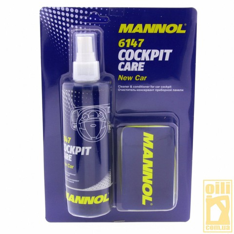 Mannol 6147 COCKPIT CARE NEW CAR 250мл