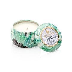 Ароматическая свеча Voluspa Липа и темный мох в декоративной банке