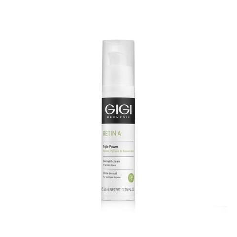 GIGI Triple Power Overnight Cream - Крем ночной пролонгированного действия Тройная Сила
