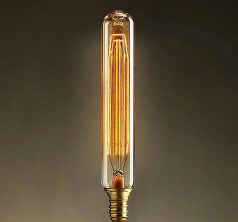 Лампа накаливания E14 40W цилиндр прозрачный 740-H