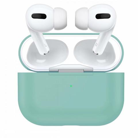Силиконовый чехол для Apple AirPods Pro (Голубой) Sky Blue