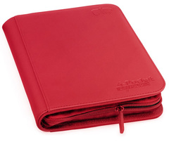 Ultimate Guard - Красный гибкий альбом XenoSkin на молнии на 160 карт (2х2)