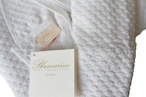 Халат махровый Blumarine Privilegio белый