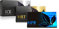 APL. Набор: аккумулированные драже APLGO ICE+HPR+HRT для улучшения работы желудка, очищения печени и оздоровления сердца