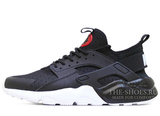 Кроссовки Мужские Nike Air Huarache Run Ultra Hyper Double Black White