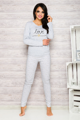 Пижама 7W Malina 1198 Grey Taro
