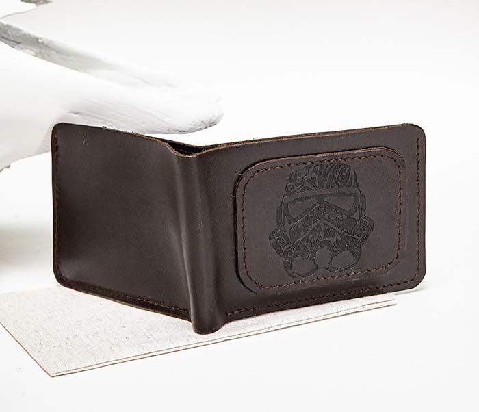 WB158 Мужской кошелек с изображением имперского штурмовика, «Boroda Design» фото 05