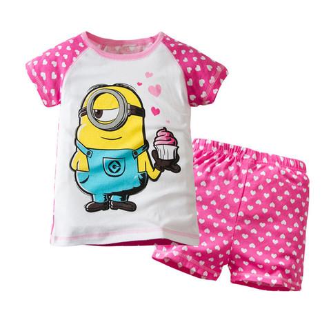Миньон детский комплект футболка и шорты