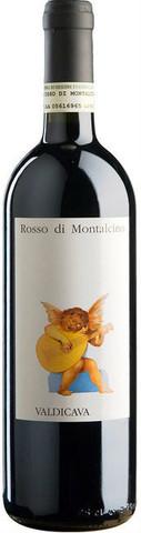 Вино Valdicava, Rosso di Montalcino DOC, 0.75 л