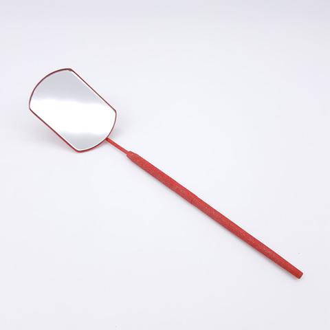 Зеркало для наращивания ресниц, красное, MC-01JR