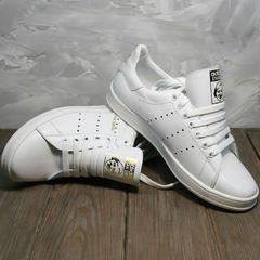 Женские кроссовки белые Adidas Stan Smith White-R A14w15wg