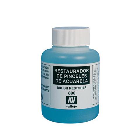 28890 Brush Restorer Очиститель Кистей на Водной Основе, 85 мл Acrylicos Vallejo