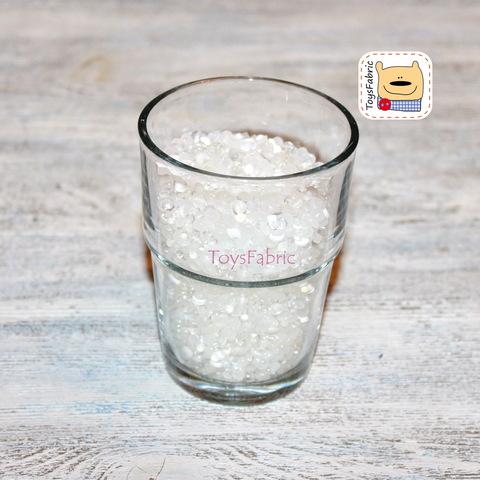 Пластиковый гранулят округлый (100 гр)