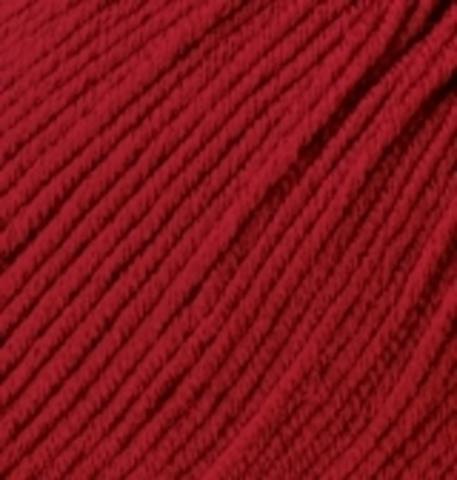Пряжа Alize Baby Wool темно-красный 106