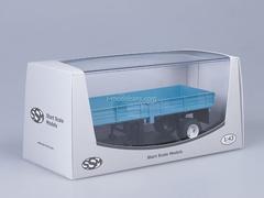 Semitrailer ODAZ-885 blue Start Scale Models (SSM) 1:43