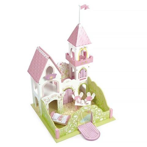 Замок для девочки Дворец красавицы феи с мебелью, Le toy Van