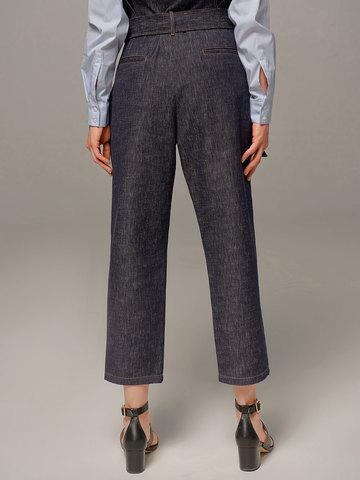 Женские синие брюки Eleventy - фото 3