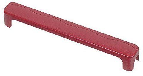 Крышка для электромонтажной колодки на 12 контактов, красная