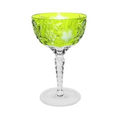 Фужер для шампанского 210мл Ajka Crystal Grape светло-зеленый