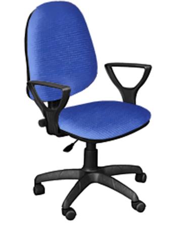 Кресло ПРЕСТЕЙН ткань синяя
