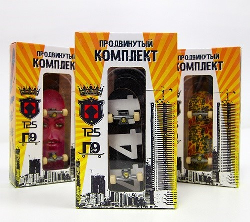 Fingerboard Turbo П9 Деревянный - Продвинутый Комплект.