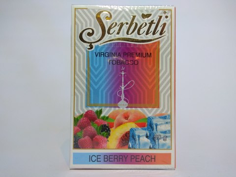 Табак для кальяна SERBETLI Ice Berry Peach 50gr