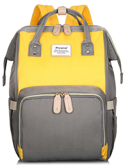 Сумка-рюкзак для Мам Picano 1816 Желтый + Серый