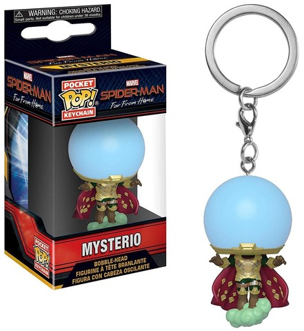 Pocket POP! Keychain: Marvel: Spider-Man: Far From Home: Mysterio