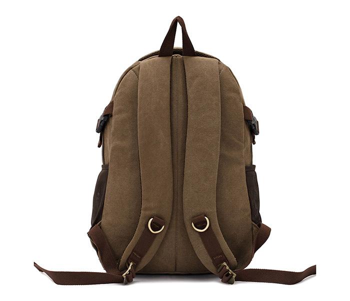 BAG388-1 Мужской повседневный рюкзак черного цвета из прочной ткани фото 05