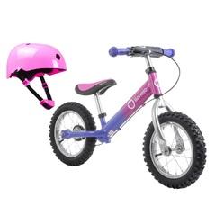 Беговел Lionelo LO-DEX PLUS Pink со шлемом безопасности