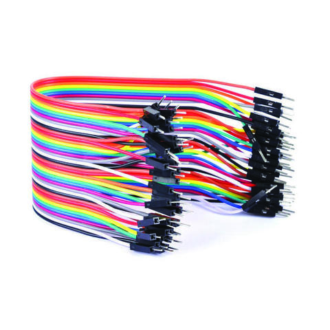 Соединительный кабель 1x40 пин папа-папа - 20см