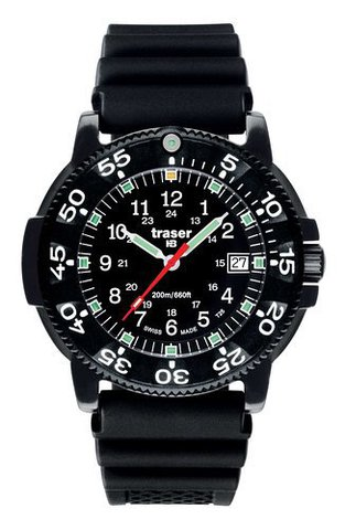 Купить Наручные часы Traser P6504 BLACK STORM PRO Professional 100261 по доступной цене