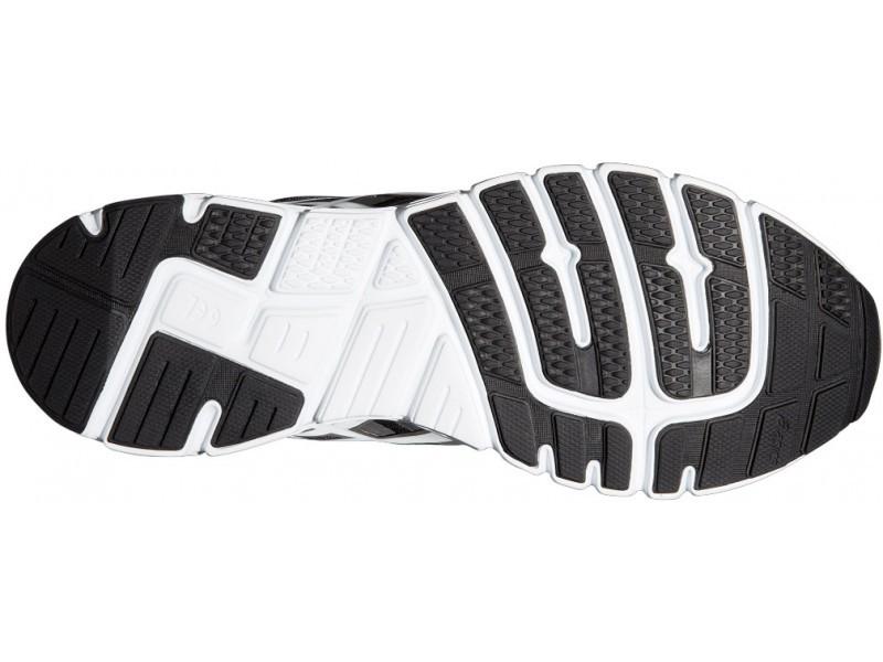 Мужские кроссовки для бега Asics Gel-Zaraca 4 (T5K3N 9001) черные фото подошва