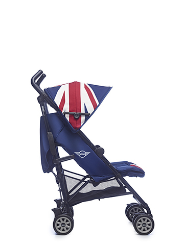 Детская коляска  MINI by Easywalker buggy Union Jack Classic и Easywalker buggy бампер Dark Blue