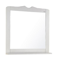 Зеркало для ванной Onika Сен-Луи 80.00 белое дерево
