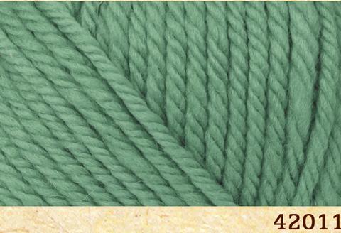 Пряжа FibraNatura Lima 42011 зеленый