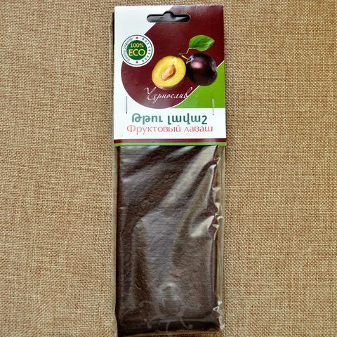 Лаваш фруктовый из чернослива, 100г