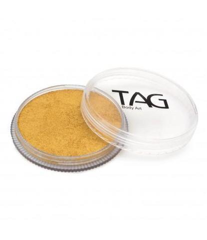 Аквагрим TAG 32гр перламутровый золотой