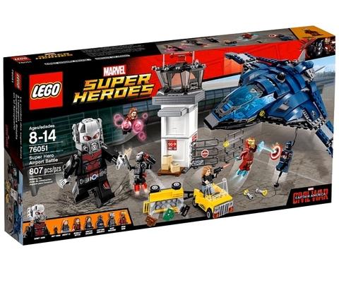 LEGO Super Heroes: Сражение в аэропорту 76051