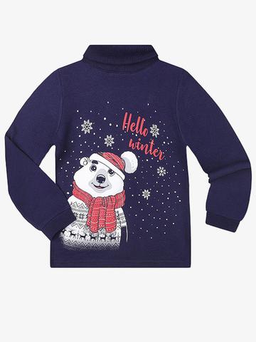 BKT003013  свитер детский, темно-синий