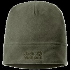 Шапка флисовая Jack Wolfskin Real Stuff Cap woodland green