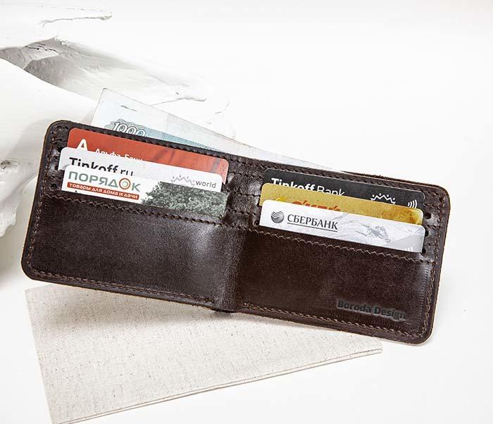 WB158 Мужской кошелек с изображением имперского штурмовика, «Boroda Design» фото 12