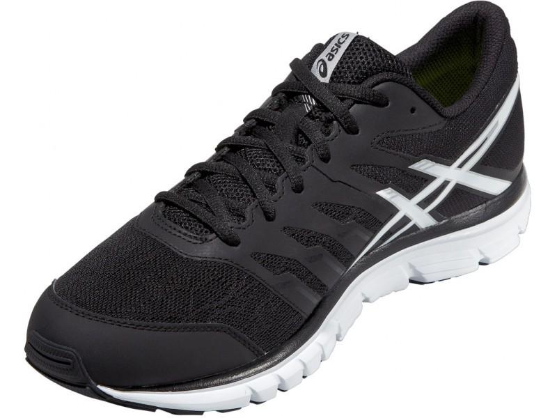Мужская беговая обувь Asics Gel-Zaraca 4 (T5K3N 9001) черная  фото