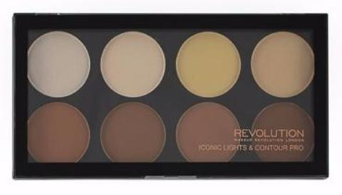 Палетка для контуринга Makeup Revolution Iconic Lights & Contour Pro